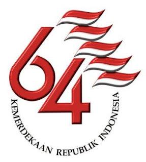 logo kemerdekaan RI ke 64