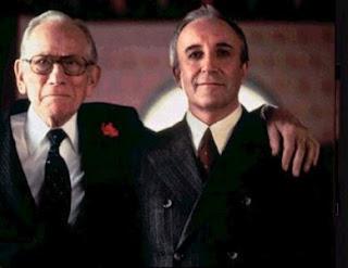 Melvyn Douglas e Peter Sellers em Muito Além do Jardim