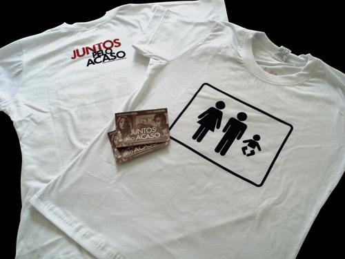 Camisa Juntos Pelo Acaso