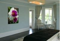 Die Werke großformatig in Räumen. Klick das Bild!