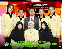 BEM FMIPA UNP 2004-2005