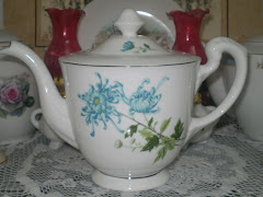 My Blue Dahlia Teapot