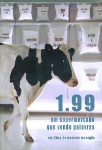 Filme Poster  1.99: Um Supermercado Que Vende Palavras DVDRip RMVB Nacional