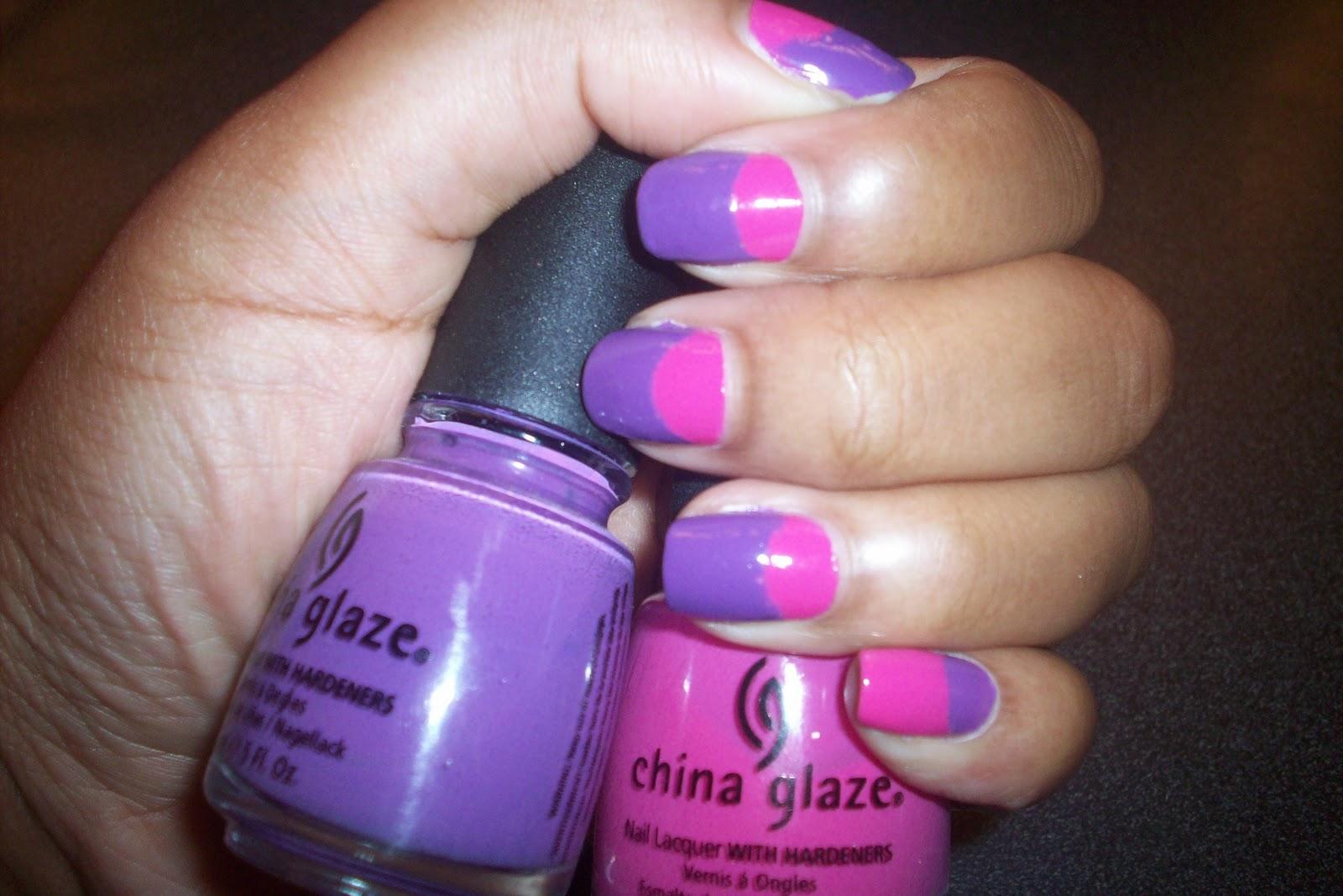 Pink And Purple Nail Designs Nail Designs Hair Styles Tattoos