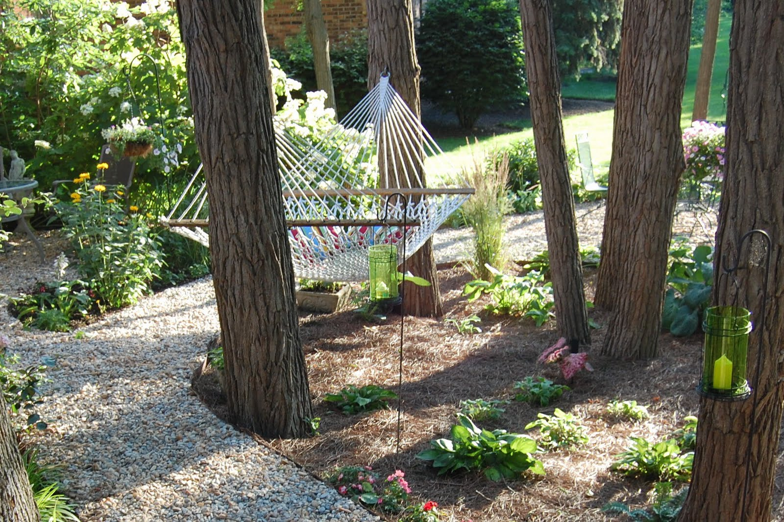 The Hesitant Gardener Before and After The Woodland