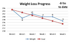 My Weight Loss Progress