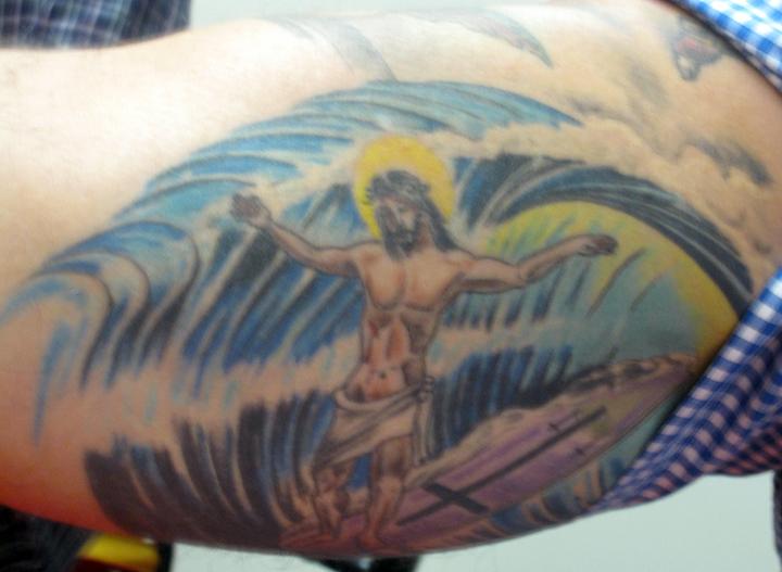 Jesus Walking On Water Tattoo Buffyfest: Buffyfest I...