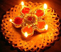 Diwali Diyas & Candles