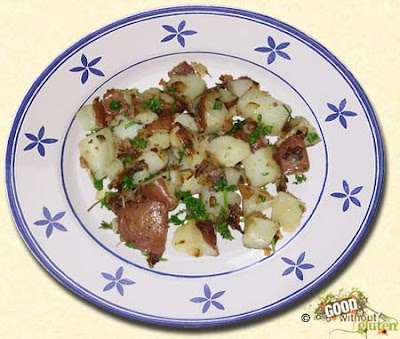 Good Without Gluten: Rosemary Fried Potatoes