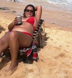 Sol na praia de Prado