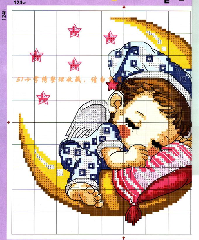 Схема для вышивки крестом 12 месяцев