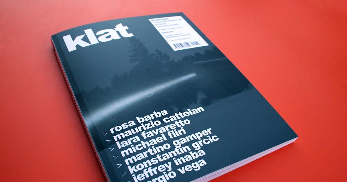 Klat 02 magazine d 39 arte contemporanea for Magazine arte contemporanea