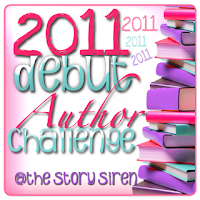 2011 Debut Author Challenge – COMPLETED!
