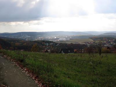 Výhled od Ořešína