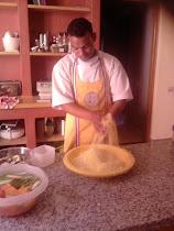 préparation de couscous