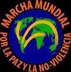 Marcha Mundial por la Paz y la No-Violencia.