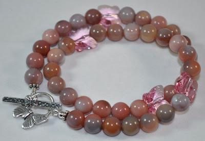 Ocean Jasper - Crystal Flight Bracelet - Rock Candy Miami