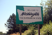 WELCOME TO WASHINGTON - THE EVERGREEN STATE