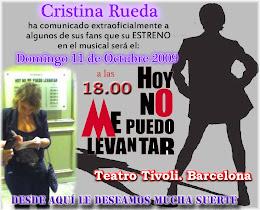 ESTRENO CRISTINA RUEDA EN HNMPL 11/10/09