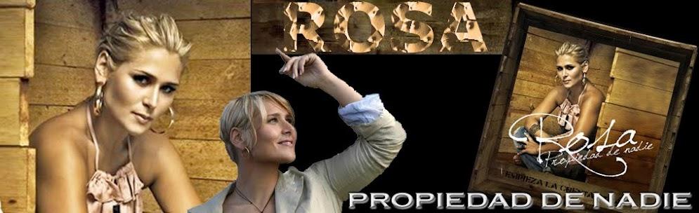 ROSA PROPIEDAD DE NADIE