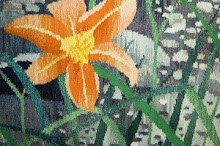 Daylilies (detail) by Suzanne Pretty