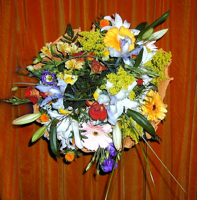 New wedding flower bouquet 2009