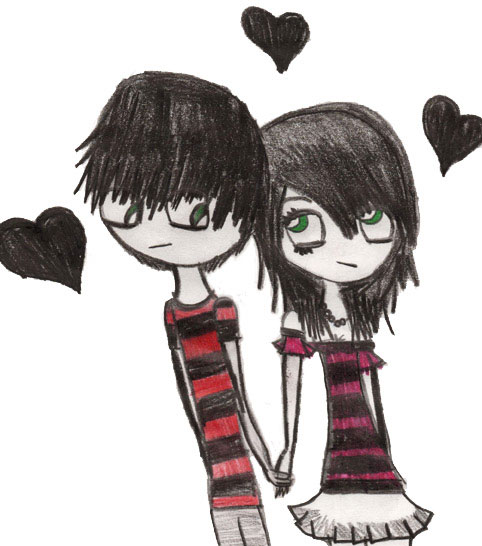 emo love graphics