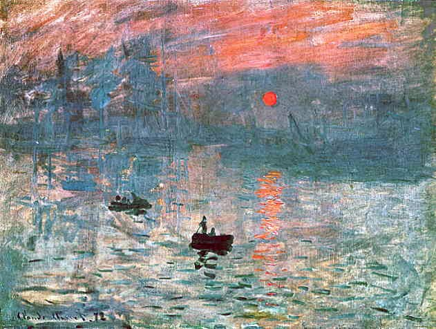 Impressionism Monet Sunrise Allegories of t...