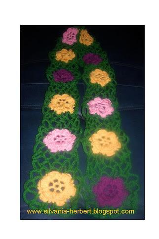 Cachecol Flores