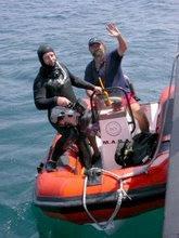 Rodando en el Mar de Alborán