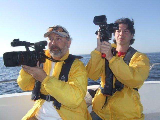 RODANDO ORCAS EN EL ESTRECHO DE GIBRALTAR (Filming orcas in the Strait of Gibraltar) junio 2010