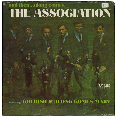 Along Comes the Association was the first album by The Association. It was originally released on Valiant Records in July, 1966; subsequently, when Valiant