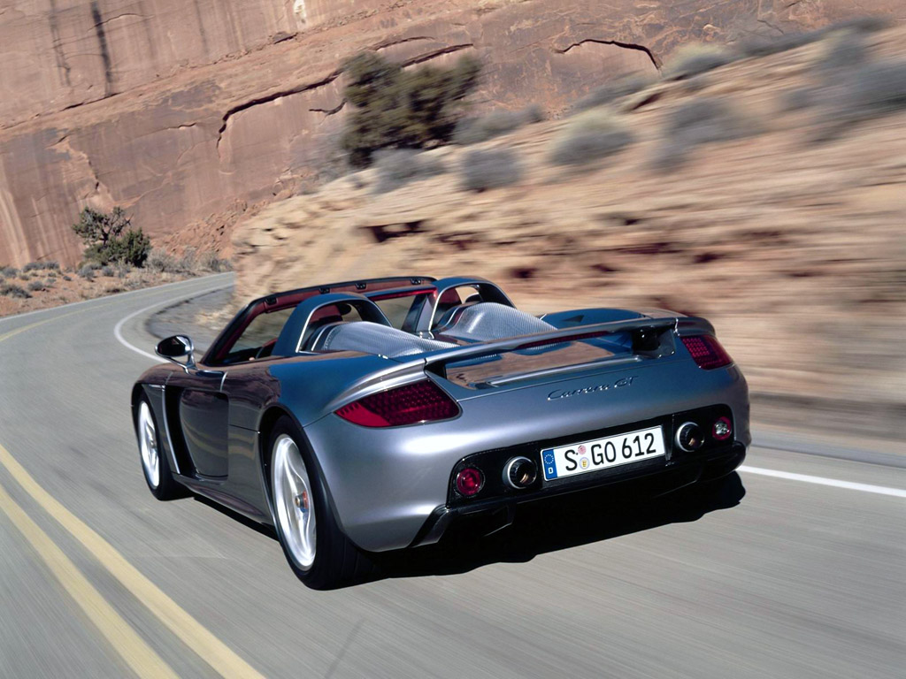 Porche Carrera GT does have