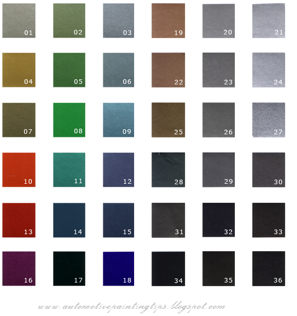 dupont auto paint color chart 2017 - Grasscloth Wallpaper
