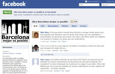 Facebook BetterBarcelona - Barcelona Sights Blog