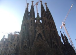 Barcelona Sights - Sagrada Familia