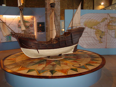 Barcelona Sights - Models at the Maritime Museum