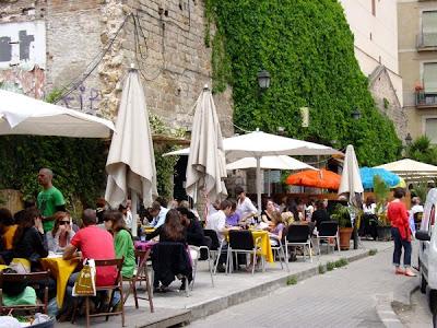 Rita Rouge Terrace - Barcelona Sights