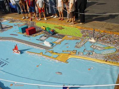 Fun and Games at Barcelona Port during La Merçe - Barcelona Sights Blog