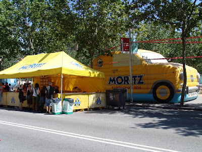 Handy Moritz Bar for Beer and Food! - Barcelona Sights Blog