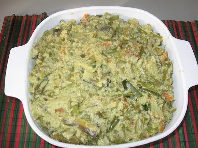 Avial is made with many vegetables