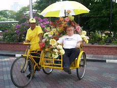In a Trishaw, Melaka,Malaysia