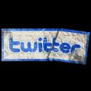 sticker, twitter icon