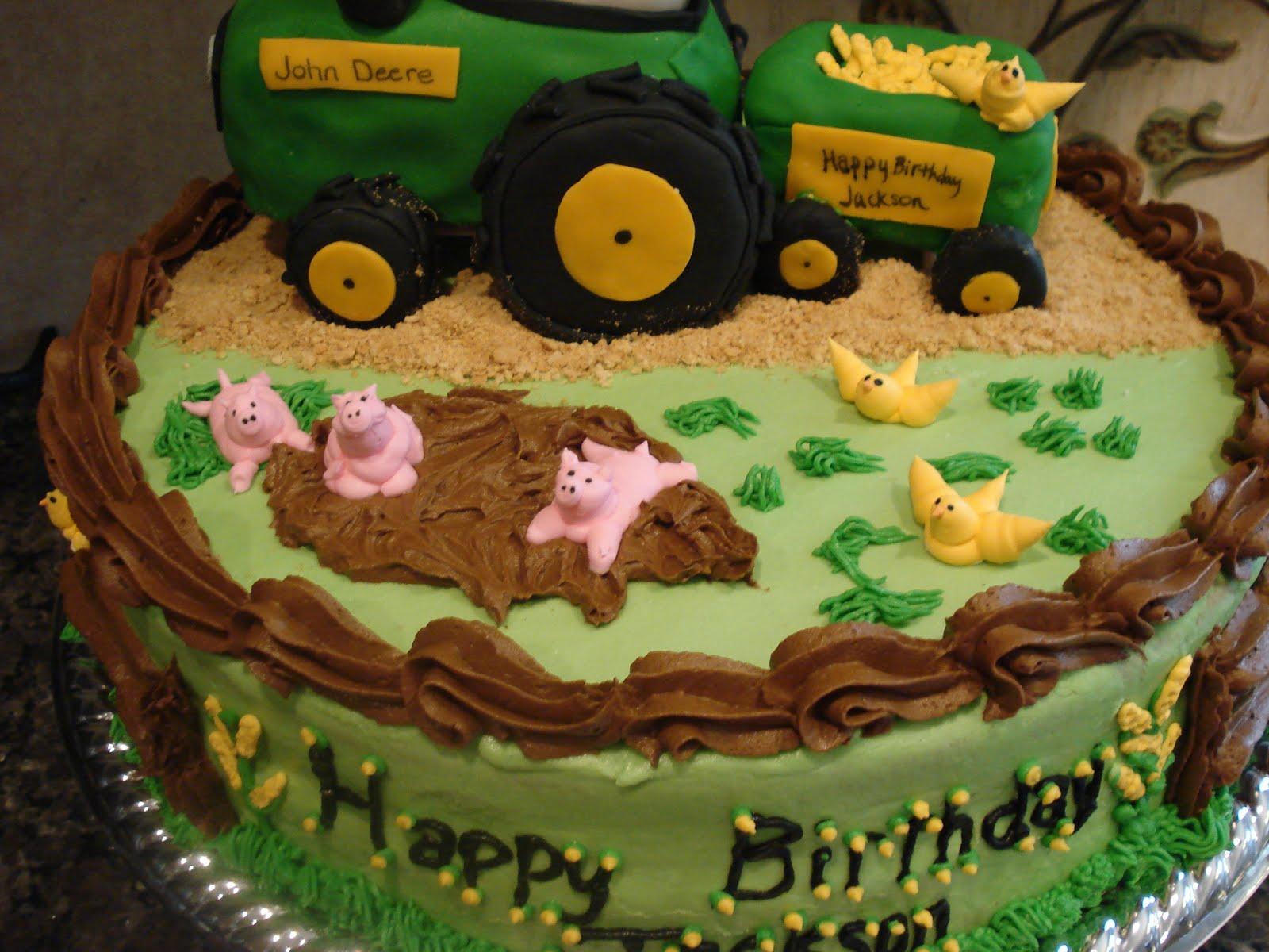 Farm Themed Birthday Party Life Cake Whimsy