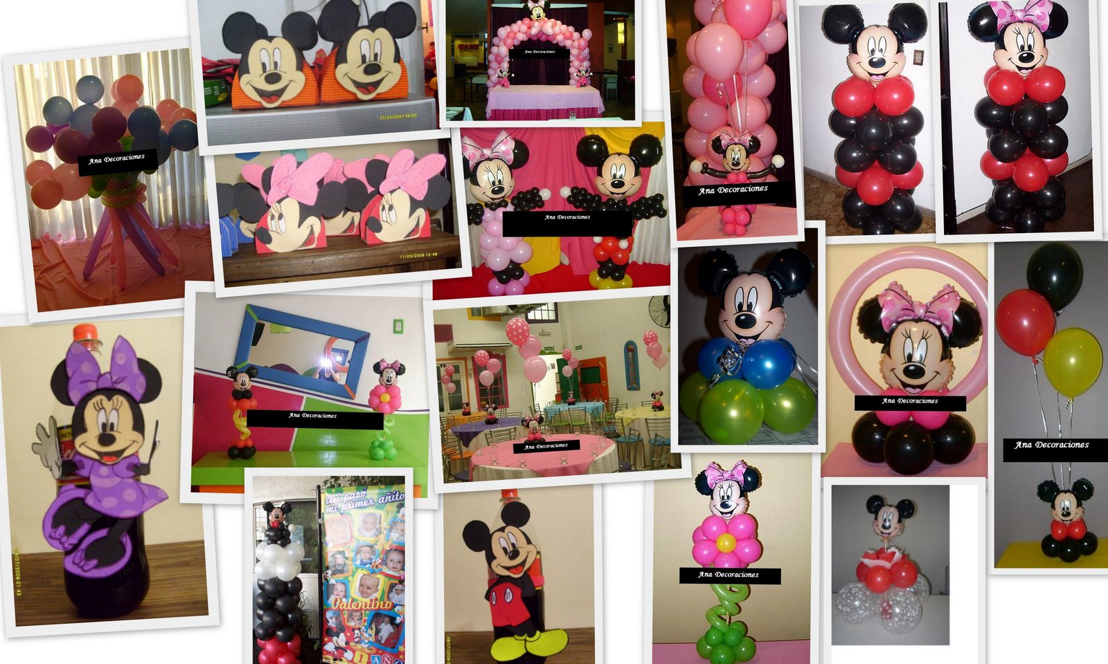 Ambientacion Minnie   Mickey