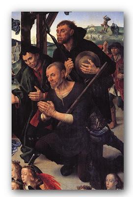 Tríptic Portinari (detall de l'adoració dels pastors)