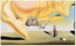 Salvador Dalí. El gran masturbador (detall)