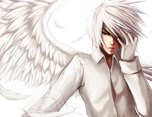 anime boy angel. anime boy angel. grandmas