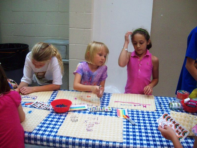 Girl Scouts Troop 9691 Sit Upons A Girl Scout Tradition