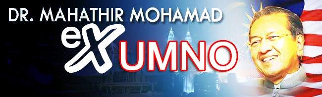 EX-UMNO bagi ahli yang hilang kepercayaan pada PAKLAH